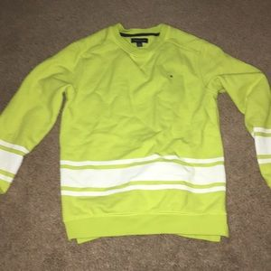 Light green Tommy Hilfiger pull over sweater